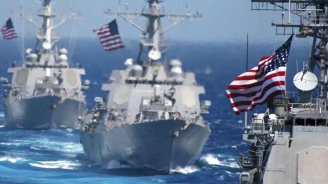 VIVA Militer: Armada tempur Angkatan Laut Amerika Serikat (AS)