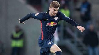 Timo Werner saat membela RB Leipzig