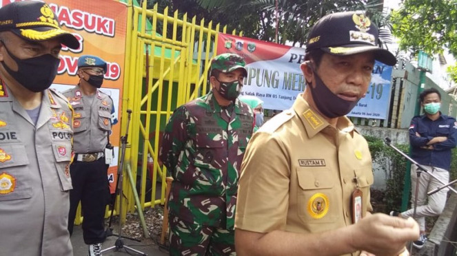 Wali Kota Jakarta Barat Rustam Efendi