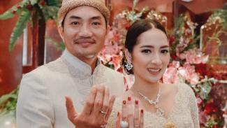 Niken Anjani dan Dimaz Pramono.
