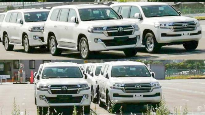 Toyota Land Cruiser baru