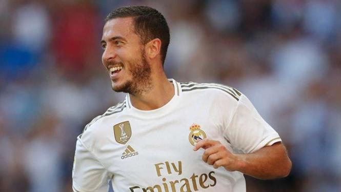 Penyerang Real Madrid, Eden Hazard