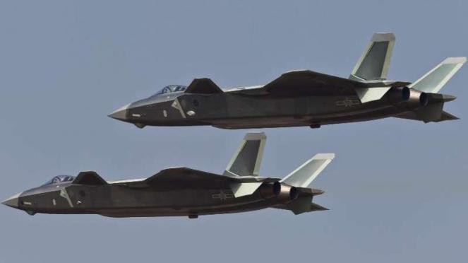 VIVA Militer: Jet tempur China, Chengdu J-20