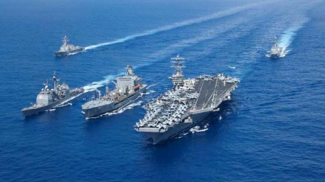 VIVA Militer: Armada Angkatan Laut Amerika Serikat di Samudera Pasifik