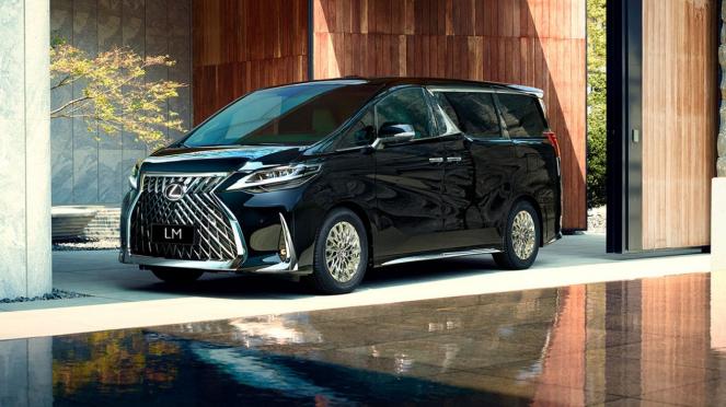 Mobil Lexus kembaran Toyota Alphard mulai dipasarkan di Indonesia