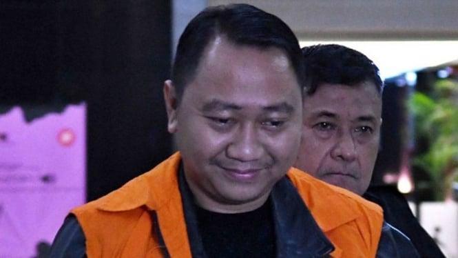 Bupati nonaktif Lampung Utara, Agung Ilmu Mangkunegara.