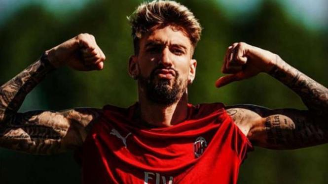 Winger AC Milan, Samu Castillejo.