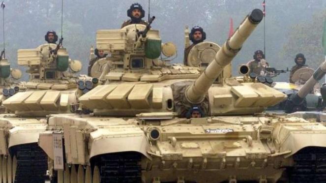 VIVA Militer: Tank T-90MS milik Angkatan Bersenjata India