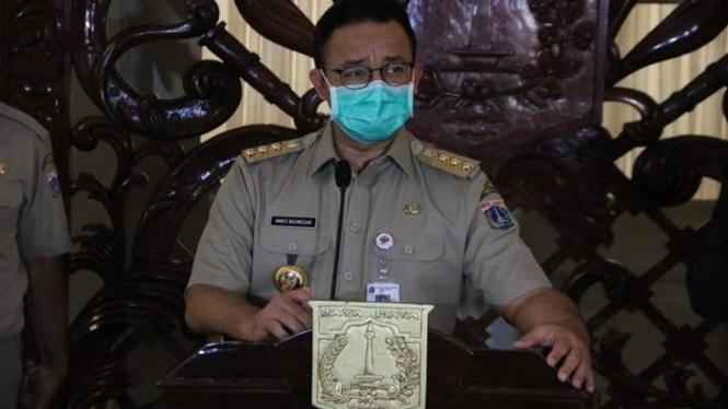 Gubernur DKI Jakarta Anies Baswedan di Balai Kota, Jakarta Pusat. Source: Dok. Pemprov DKI