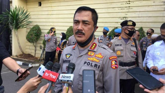 Kepala Badan Reserse Kriminal (Kabareskrim Polri, Komjen Agus Andrianto