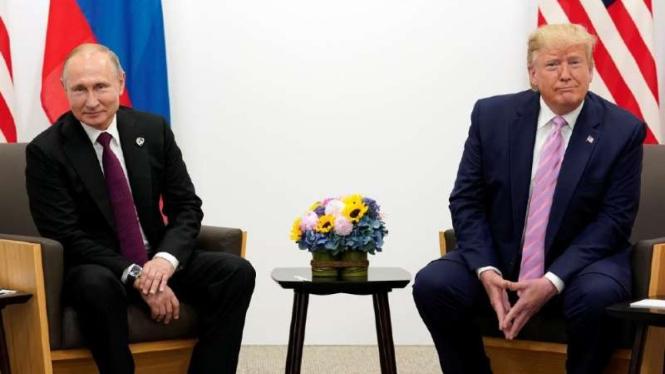 VIVA Militer : Presiden Turki Recep Tayyip Erdogan dan Presiden AS Donald Trump