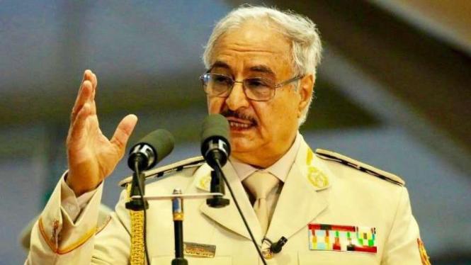 VIVA Militer: Panglima Tentara Nasional Libya (LNA), Marsekal Khalifa Haftar