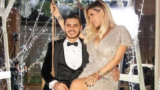 Mauro Icardi dan Wanda Nara