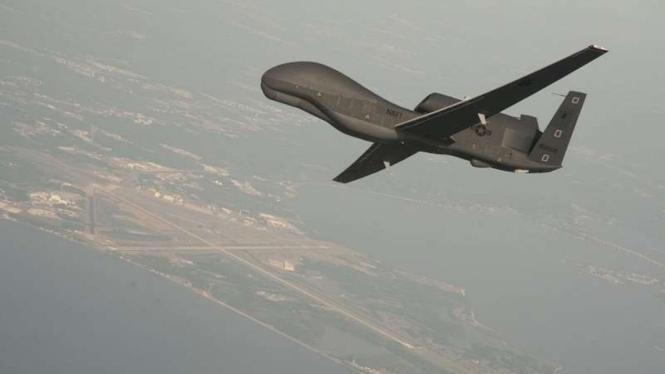VIVA Militer: Drone Angkatan Udara Amerika Serikat, RQ-4 Global Hawk