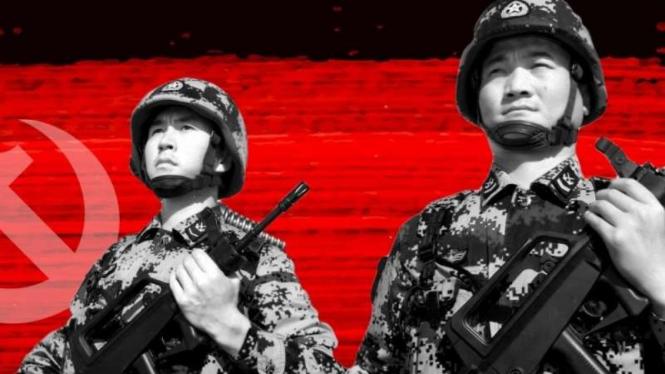 VIVA Militer: Prajurit Tentara Pembebasan Rakyat China (PLA)