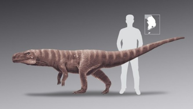 Nenek moyang buaya berjalan mirip dinosaurus.