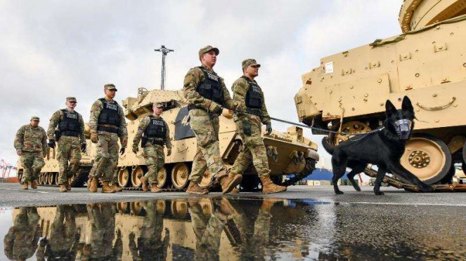 VIVA Militer: Personel Angkatan Bersenjata Amerika Serikat (AS) di Jerman