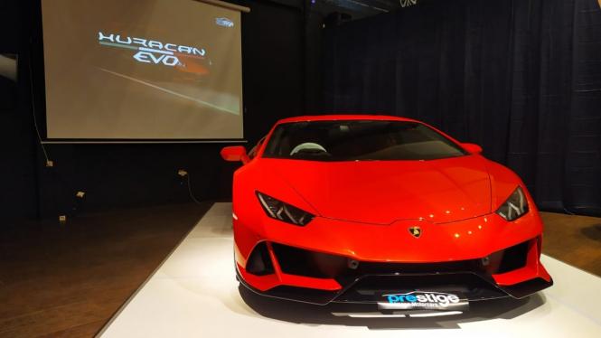 Lamborghini Huracan Evo mendarat di Indonesia