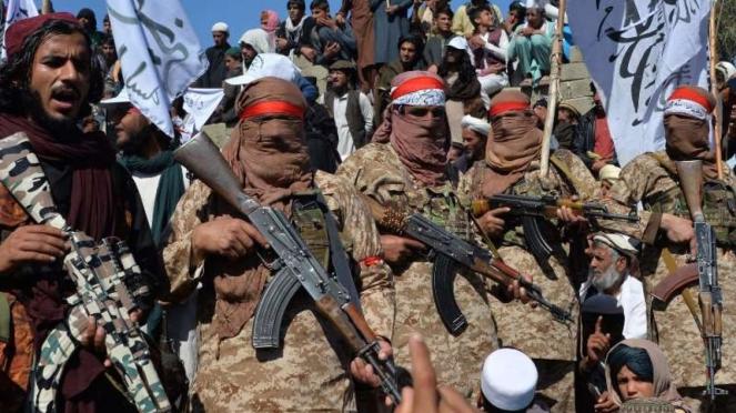 VIVA Militer: Anggota milisi Taliban di Afghanistan