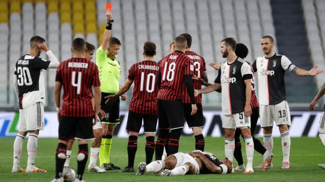 Juventus Vs AC Milan di Coppa Italia