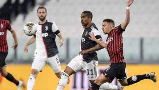 Duel Juventus vs AC Milan.