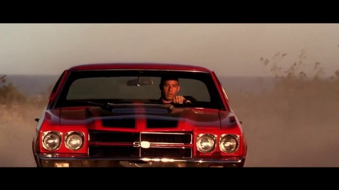 Vin Diesel mengendarai Chevrolet Chevelle SS