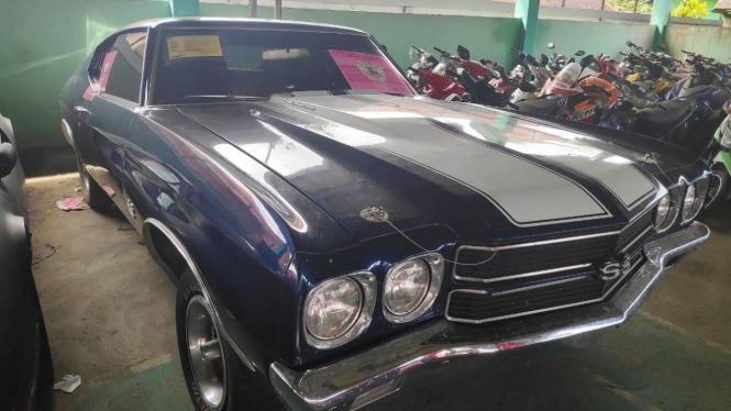 Chevrolet Chevelle SS yang dilelang Ditjen Bea Cukai