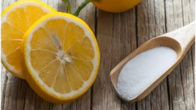 Baking soda dan lemon