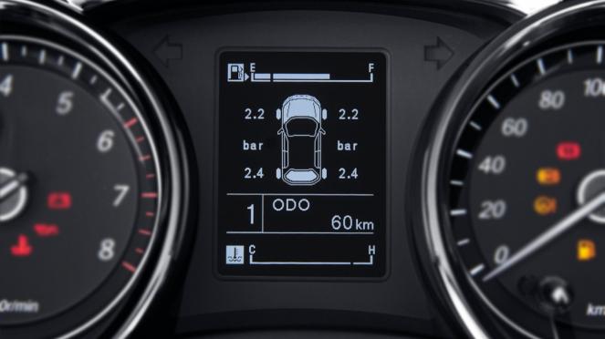 Ilustrasi Tire Pressure Monitoring System