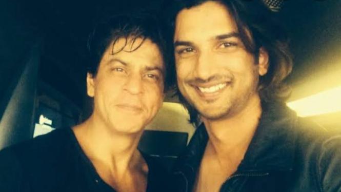 Shah Rukh Khan dan Sushant Singh Rajput.