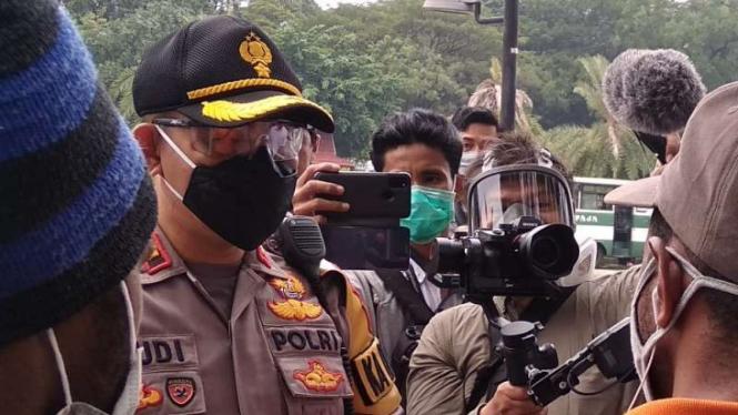 Unjuk rasa warga Papua