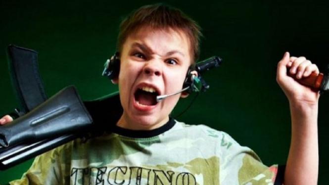 Ilustrasi anarkisme pada remaja disebabkan internet