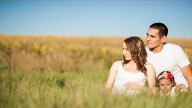Ilustrasi pasangan suami istri.