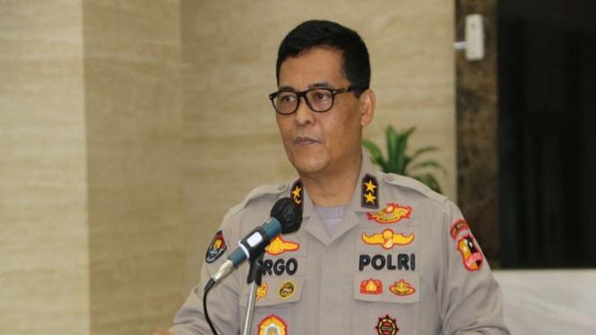 Kepala Divisi Humas Polri Irjen Pol Raden Prabowo Argo Yuwono.