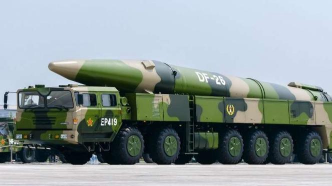 VIVA Militer: Rudal balistik jarak menengah China, DF-26
