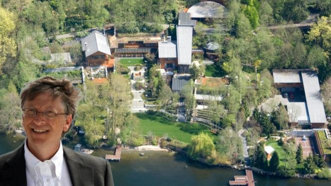 Bill Gates House. Image via: Business Insider