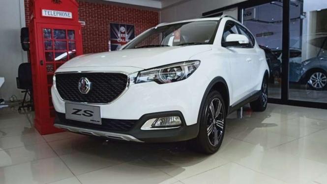 MG ZS salah satu SUV yang dipasarkan di Indonesia