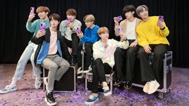 Samsung Galaxy S20 Plus BTS Edition