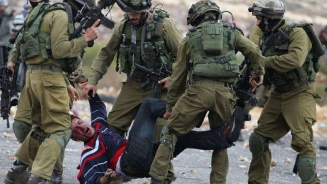 VIVA Militer: Tentara Pertahanan Israel (IDF) menangkap warga Palestina