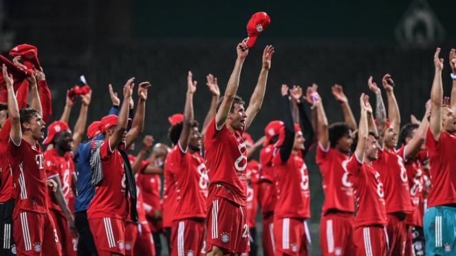 Bayern Munich juara Bundesliga
