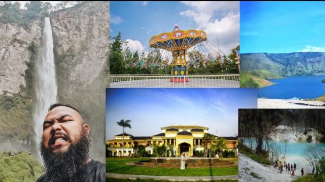 Destinasi wisata Provinsi Sumut