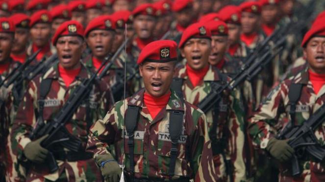VIVA Militer: Tentara Kopassus