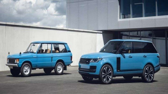 Range Rover edisi 50 tahun yang akan dijual dalam jumlah terbatas