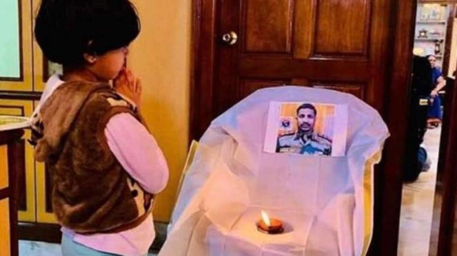 VIVA Militer: Abhigna Babu, putri mendiang Kolonel Bikkamalla Santosh Babu