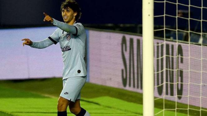 Penyerang Atletico Madrid, Joao Felix.