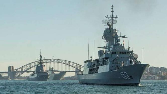 VIVA Militer: Kapal perang Angkatan Laut Australia (RAN), HMAS Stuart