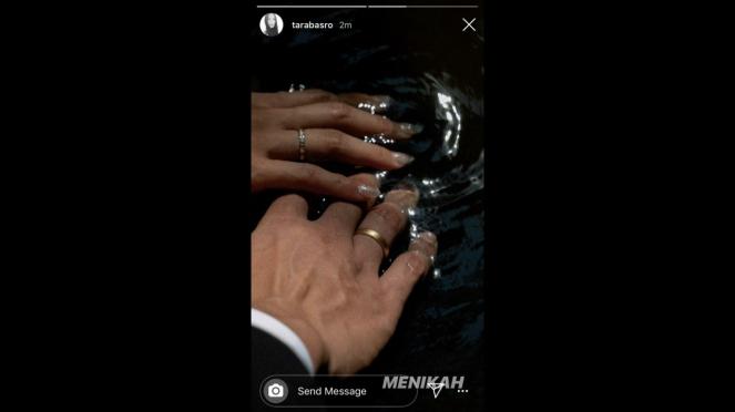 Instagram story Tara Basro