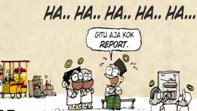 Komik Gus Dur Gitu Aja Repot (Instagram/gumphell)