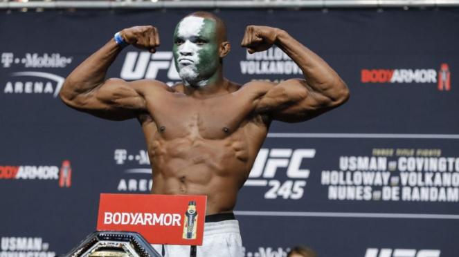 Juara kelas welter UFC, Kamaru Usman
