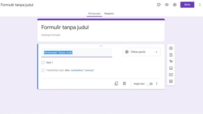 Lihat Cara Membuat Google Form Untuk Survey mudah